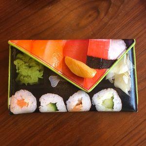 Sushi inspired clutch